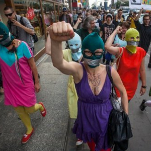 Free Pussy Riot Band From Russia