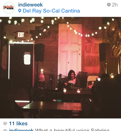April 2015 – Del Ray So-Cal Cantina, Toronto, ON