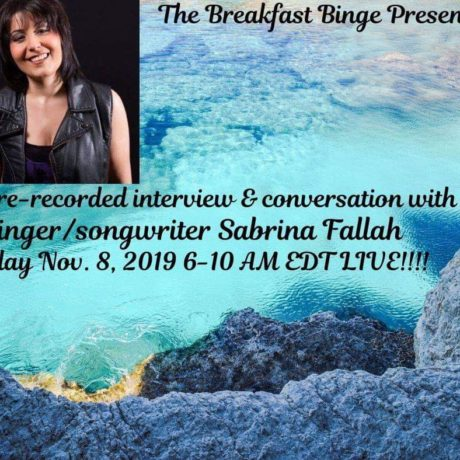 Sabrina Fallah – Interview with Ben on Digital Revolution Radio