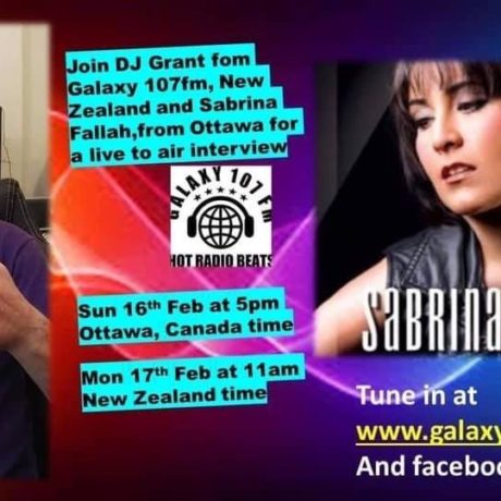 Great interview with DJ Grant and Barbara on Galaxy 107 FM – February 16th, 2020