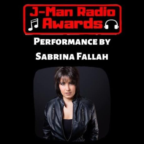 "Sabrina Fallah – Performing the Canadian National Anthem ""Oh Canada"" and my song ""One Chance"" at the 2020 J-Man Radio Awards"