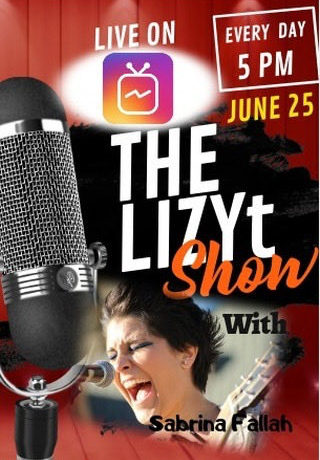 Sabrina Fallah – Interview with Lizy on The LizyT Show