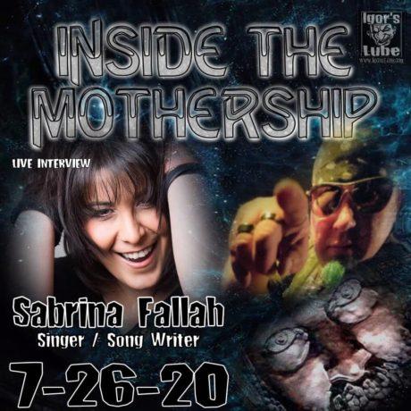 Sabrina Fallah – Interview that I had on Alien X Radio